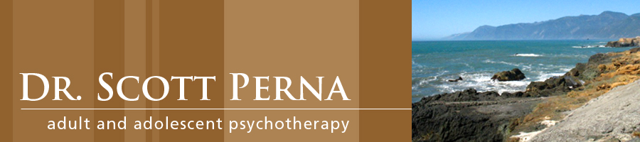 Dr. Scott Perna: clinical psychologist specializing in adult and adolescent psychotherapy - in Alameda, California